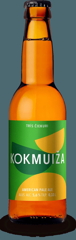 Kokmuižas alus Trīs čiekuri APA
