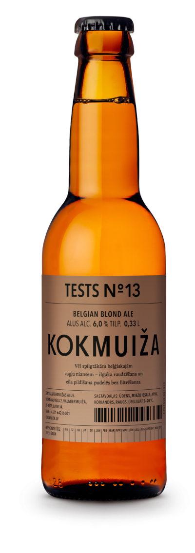 Beļģu blondais alus tests