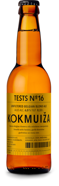 Beļģu blondais alus tests