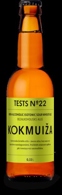 Tests Nr. 22 – bezalkoholisks izotonisks alus
